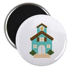 School Building Magnets