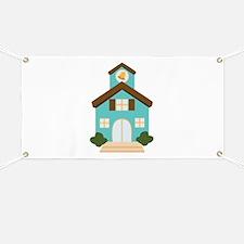 School Building Banner