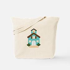 School Building Tote Bag