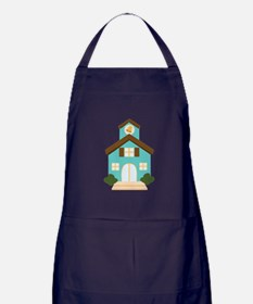 School Building Apron (dark)