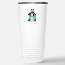 School Building Travel Mug