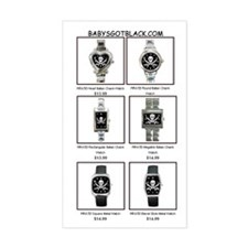 PIRATE WATCH CATALOG Rectangle Decal