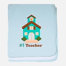Teacher baby blanket