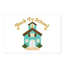 Back To School Postcards (Package of 8)