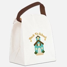 Back To School Canvas Lunch Bag