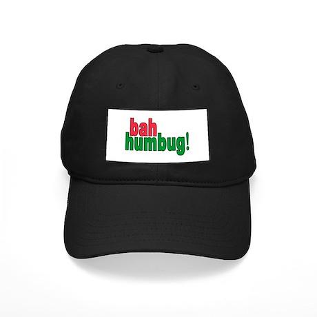BAH HUMBUG! Black Cap