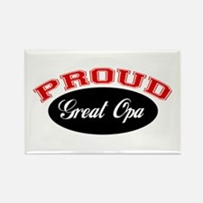 Proud Great Opa Rectangle Magnet