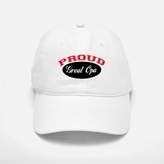 Proud Great Opa Baseball Baseball Cap
