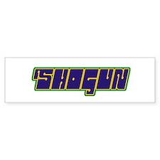 Shogun Bumper Bumper Sticker