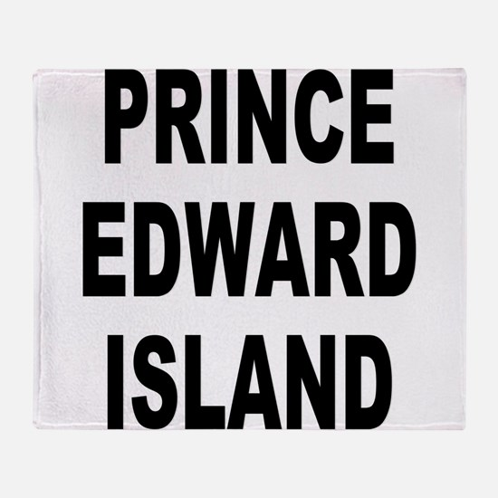 Prince Edward Island Throw Blanket