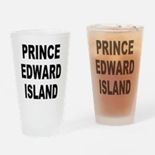 Prince Edward Island Drinking Glass
