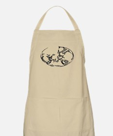 Butterfly Oval Apron