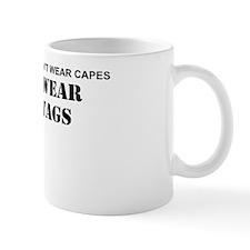 REAL HEROES WEAR DOG TAGS Mug
