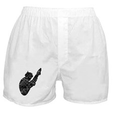 Distressed Diver Silhouette Boxer Shorts