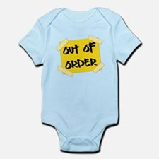 Out of Order Sign Body Suit