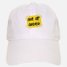 Out of Order Sign Baseball Baseball Cap