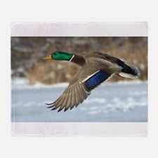 Mallard Duck Throw Blanket
