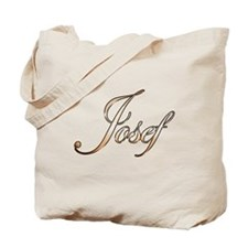 Gold Josef Tote Bag