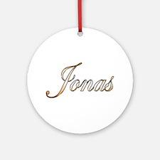 Gold Jonas Round Ornament