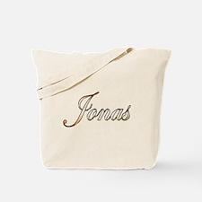 Gold Jonas Tote Bag
