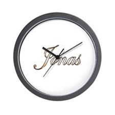 Gold Jonas Wall Clock