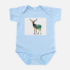 Geometric Deer Body Suit
