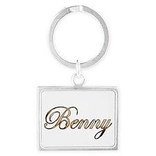 Gold Benny Keychains