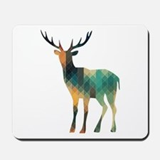 Geometric Deer Mousepad