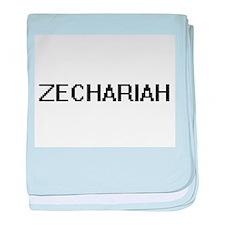 Zechariah Digital Name Design baby blanket
