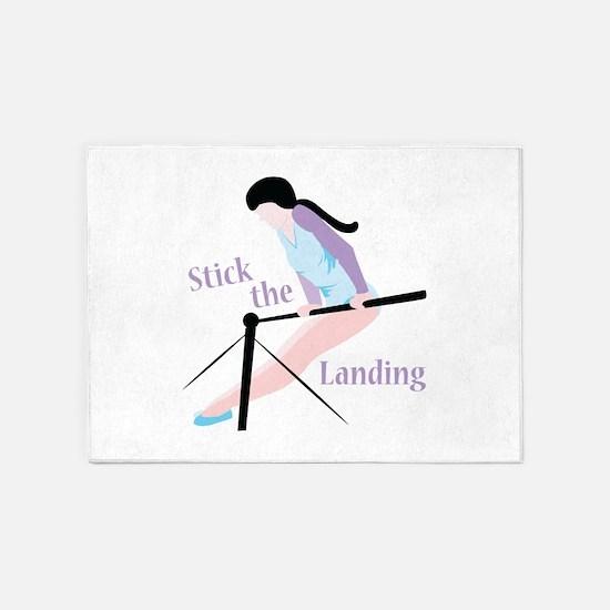 Stick The Landing 5'x7'Area Rug