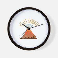 Visit Hawaii Wall Clock