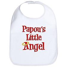 Papou Greek Little Angel Bib