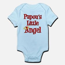 Papou Greek Little Angel Body Suit
