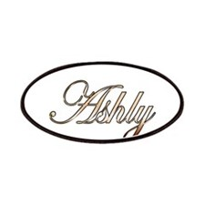 Gold Ashly Patch