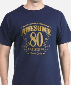 Awesome 80 years old T-Shirt