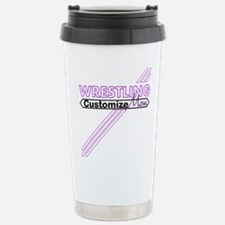 Wrestling Mom Travel Mug