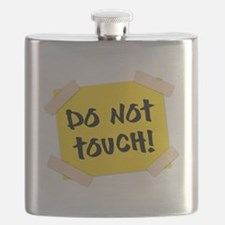 Do Not Touch! Sign Flask