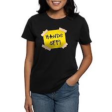 Hands Off! Sign Tee