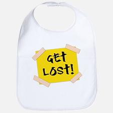 Get Lost! Sign Bib