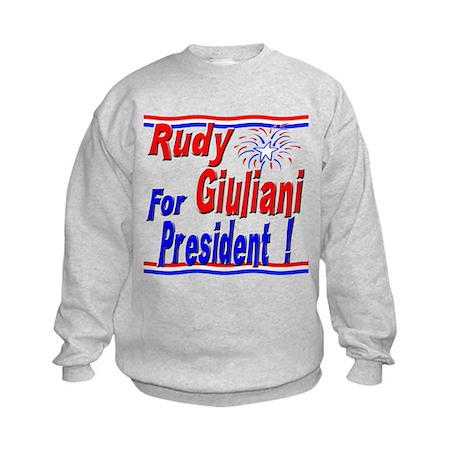 Giuliani for President Kids Sweatshirt