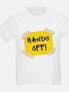Hands Off! Sign T-Shirt