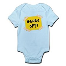 Hands Off! Sign Body Suit