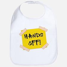 Hands Off! Sign Bib