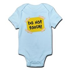 Do Not Touch! Sign Body Suit