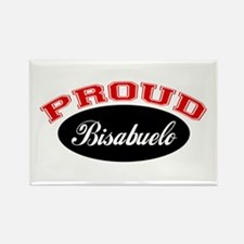 Proud Bisabuelo Rectangle Magnet