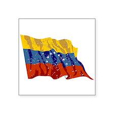 Venezuela Flag (Distressed) Sticker