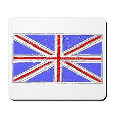 United Kingdom Flag (Distressed) Mousepad