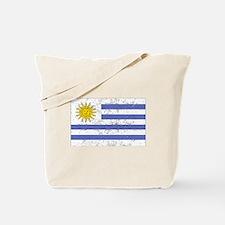 Uruguay Flag (Distressed) Tote Bag