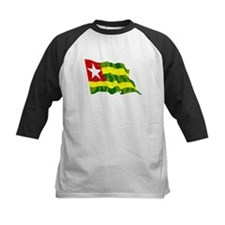 Togo Flag (Distressed) Baseball Jersey