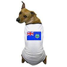 Old St Helena Flag (Distressed) Dog T-Shirt